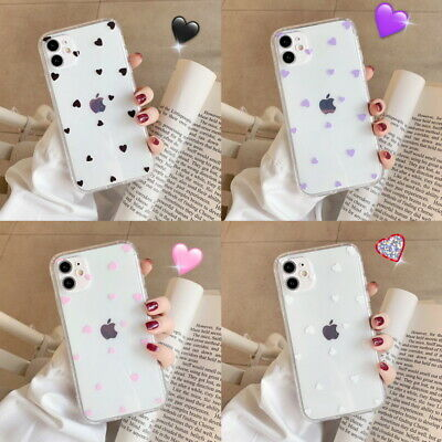 For iPhone 11 Pro Max XS XR 8 7 6 Plus Shockproof Clear Silicone Soft Case Cover