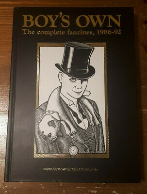 Boy's Own: Complete Fanzines 86-92 Book (Acid House, Balearic, Rave) Gold Ed.
