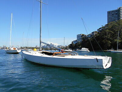 Diamond 30ft yacht classic racer day sailer cheap (Sydney) No Reserve!!