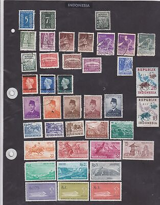 indonesia stamps  ref 12210