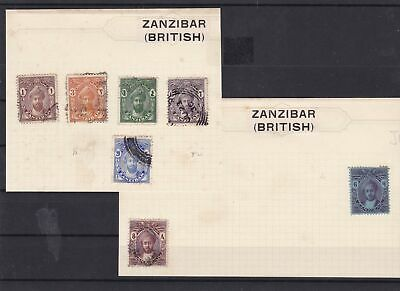 zanzibar early stamps ref 10416