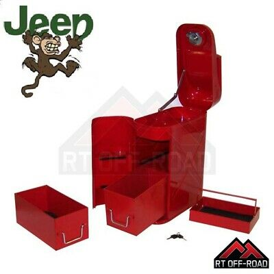 Jerry can Trail can Tool storage box 4x4 Jeep Land Rover Suzuki Toyota