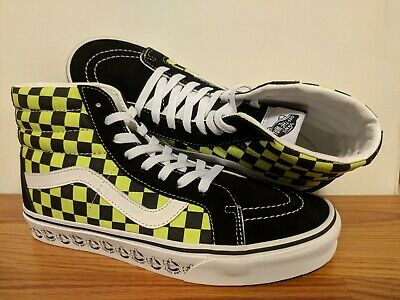 691f034e VANS NEW SK8-HI Reissue Vans BMX Black/Lime Vault Size Men's USA 9 UK 8.5  EUR 42