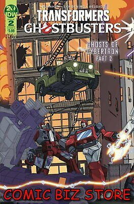 Transformers Ghostbusters #2 (2019) 1St Printing Shoening Main Over A Idw