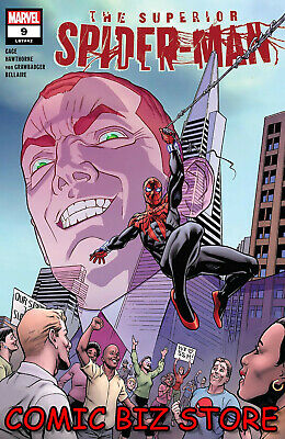 Superior Spider-Man #9 (2019) 1St Printing Mike Hawthorne Cover Art Marvel