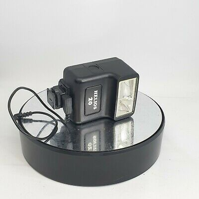 HELIOS Flash Unit 20 - Black - In very Good Condition  with Cable - #704