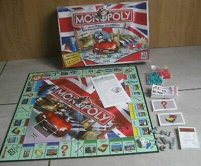 Monopoly Here & Now UK Edition Board Game by Parker Hasbro 2007