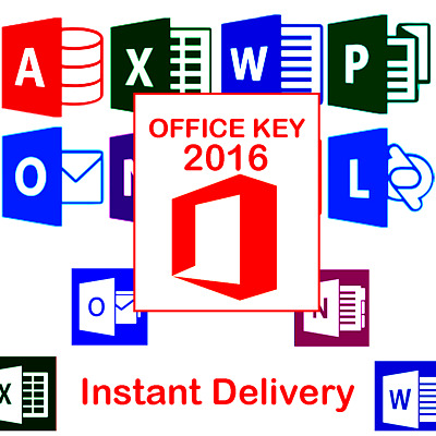 Instant Delivery 🔥 Office 2016 Professional Plus 🔥 Serial KEY Legit License 🔥