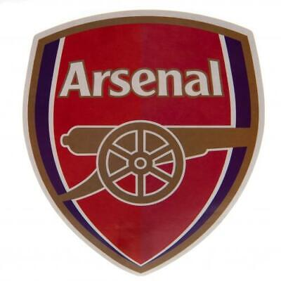 Arsenal FC Official Crested Large Sticker 18cm x 16cm Present Gift The Gunners