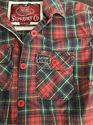 Superdry Check Shirt Size M
