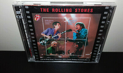 The ROLLING STONES : Live in Hong Kong 7 November 2003 (Russia 2CD) SRS KTS TSP
