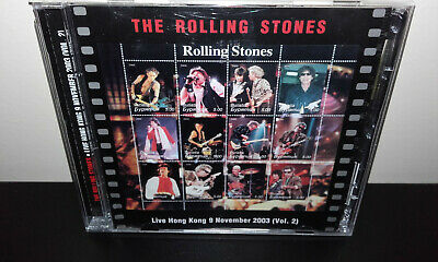 The ROLLING STONES : Live in Hong Kong 9 November 2003 (Russia 2CD) SRS KTS TSP