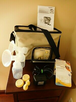 Medela Advanced Personal Double Electric Breast Pump W/ Travel Tote+ Accessories