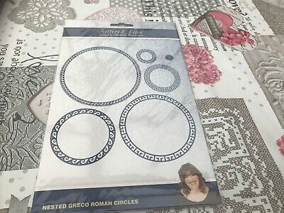 Tattered Lace Nested Greco Roman Circle Die Set