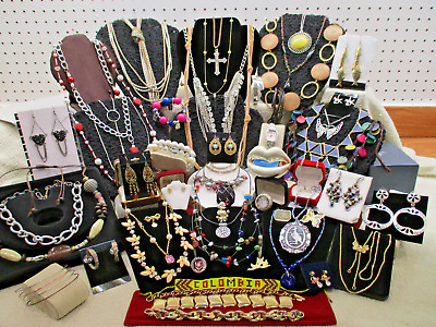 Vtg Modern Massive 57 Pc Assorted Mixed Bit Everything Estate Jewelry Lot Lb A63
