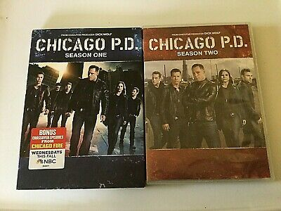Chicago PD: DVD Discs Complete Seasons 1 2 TV Series Preowned