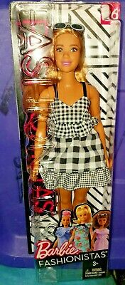 *Barbie Fashionistas* 2018 CHECK ME OUT DOLL #96 CURVY NEW