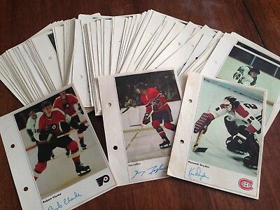 1971-72 Toronto Sun NHL Action Players (see list)  $1.50 each