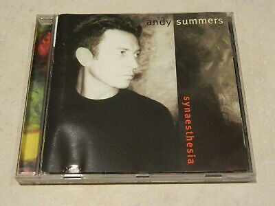 Andy Summers Synaesthesia CD [The Police solo]