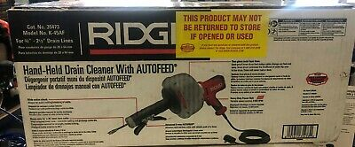 *NEW* RIDGID 35473 K-45af Sink Machine Cable Drain Cleaner