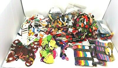 Huge Lot 750+ Skeins DMC JP Coats Cotton Embroidery Cross Stitch Floss Thread