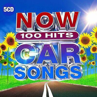 Now 100 Hits Car Songs - New 5CD Set