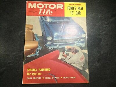 Motor Life 1957 Chevy Bel Air Buick Century Dodge Coronet Ranchero Edsel Lincoln