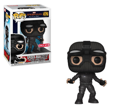 "NEW Funko POP! Marvel Spider-Man Far From Home #476 ""Spider-Man"" - Bobble-Head"