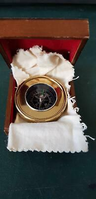 Compass, Brass in lined box, VGC