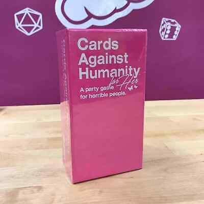 Cards Against Humanity for Her Pink Game Limited Edition for Women