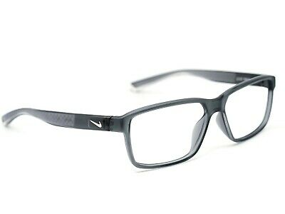 7963b475a674 Nike Men's Eyeglasses 7092 068 Live Free Gray Smoke Rectangular Frame  55[]14 140