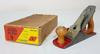 Chapman Acorn no.4 Wood Plane by Stanley Made in England