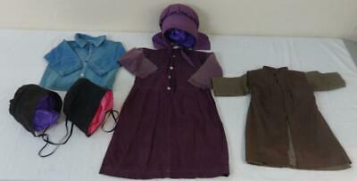 Antique Lot (6) Pieces of 19th Century Amish Clothing & Bonnets