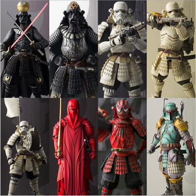 """Star Wars Movie Realization 7"""" Action Figure Japanese Samurai Toy Gifts Xmas New"""