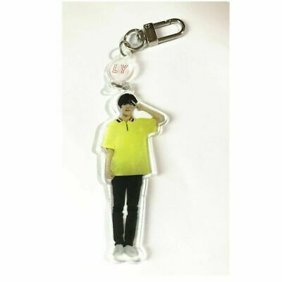 Kpop BTS Love Yourself JIMIN Acrylic Keychain Bangtan Boys Cute Figure Keyring