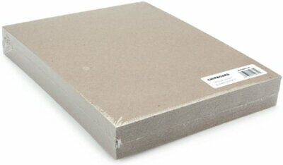 Medium Weight Chipboard Sheets 8.5 x 11-inch 1mm Thick Pack of 25 Natural Brown