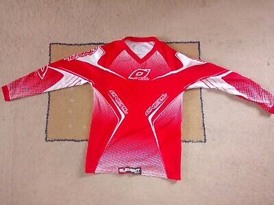 Kid's Youths red o neal Motocross Top Shirt Jersey
