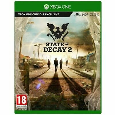 State of Decay 2 Xbox One Game PAL Version New Sealed In Stock SALE