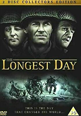 The Longest Day - DVD (Region 2) 2 Disc Collector's Edition - Brand New Sealed