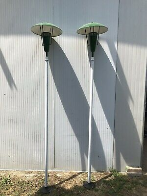 2 Lampioni GCME Design 1960 rare pair of lampposts  Ad Arredoluce Stilnovo