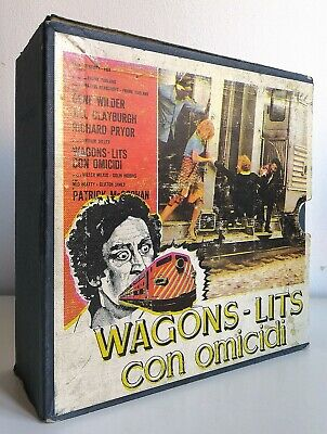 WAGON LITS - CON OMICIDI (Super 8mm Pirata) SONORO/COLORE --RARO--