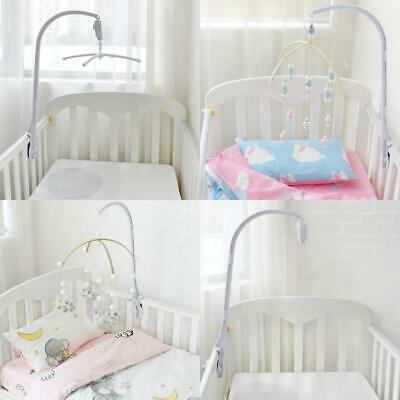 Baby Toy Rattle Bracket Set Musical Baby Crib Mobile Frame Bed Bell Toy Holder F