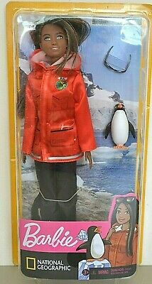 2019 NATIONAL GEOGRAPHIC You Can Be Anything POLAR MARINE BIOLOGIST Barbie NEW