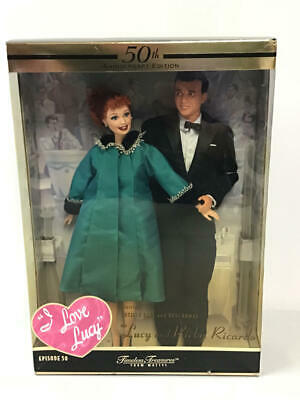 Mattel I Love Lucy Lucy & Ricky Ricardo Timeless Treasures Doll Set Nrfb