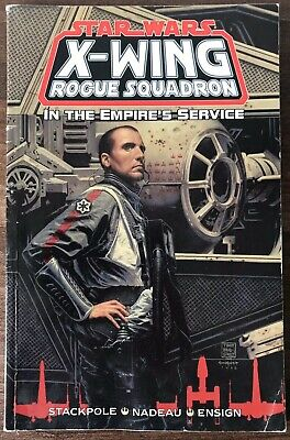 Star Wars X Wing Rogue Squadron In The Empires Service Graphic Novel