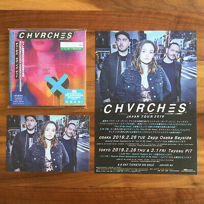 Love Is Dead+6 Bonustrack (Hansa Session) Japan Cd 2019+Postcard+Flyer! Chvrches