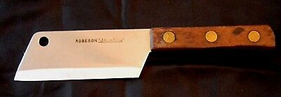 """Robeson """"Shuredge"""" 9 3/4"""" Wooden Handle Meat Cleaver"""