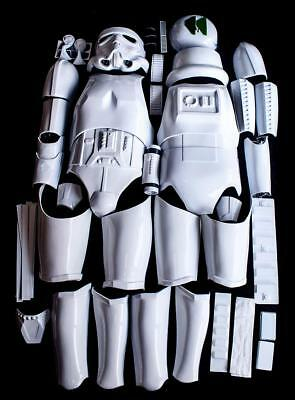 Star Wars Stormtrooper Armour Costume kit ANH Style Halloween USA 4 day Shipping