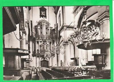 Postcard ~ Amsterdam Western church interior~ Vintage 7493