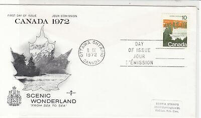 Canada 1972 Scenic Wonderland from Sea to Sea FDC Forest Stamps Cover ref 22003